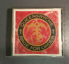 Queensryche - Rage For Order CD 1986EMI USA BMG Direct D 163906 Very Good