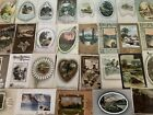 Big Lot of 60 Vintage Postcards with Cottage  Various Scenes Scenic s726