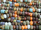 Aged Picasso Seed Beads Czech Glass Striped Picasso Color Mix 6 0 4mm 20
