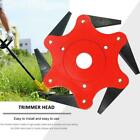 6 Steel Blades Razors 65Mn Lawn Mower Grass Eater Trimmer Head Brush Cutter Disc
