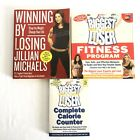The Biggest Loser Lot of 3 Books Weight Loss Program Calorie Counter Winning