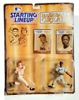 Kenner Starting Lineup 1989 Hank Aaron & Eddie Mathews Baseball Hall Of Fame SLU