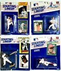 Kenner Starting Lineup Lot Of 4 1989 Mark McGwire 89 Davis 90 Clemens 93 Thomas