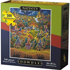 Dowdle Jigsaw Puzzle Nativity 500 Piece