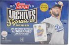 2019 Topps Archives Signature Series Active Player Edition Baseball Hobby Box