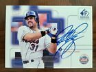 1999 Upper Deck SP Signature Edition Mike Piazza New York Mets HOF Autograph