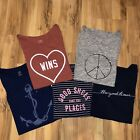 Old Navy Womens Message Tshirts Lot Of 5