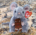 TY Stirring the mouse beanie baby babies beanies Christmas gingerbread holiday