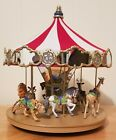 New Hallmark CAROUSEL RIDE Set and 6 Boxed Ornaments Collector's Item