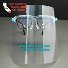 set of 5 Face Shield Full Protection Cover Clear Face Protector US SELLER