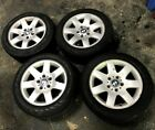 BMW E46 3 SERIES WHEELS STYLE 45 RIMS WITH TIRES 205/55 R16 FULL SET OEM