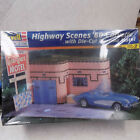 Highway Scenes 1960 Corvette with diorama motel sealed kit