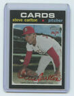 2020 TOPPS HERITAGE RED INK AUTOGRAPH STEVE CARLTON #36 71 ST. LOUIS CARDINALS