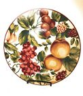 7 Waverly Garden Room FLORAL MANOR Salad Plates 8 1 2 Made in Poland Pre owned