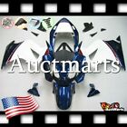 For Honda VFR800 2002-2012 Fairing Bodywork ABS Plastic Kit Blue Red 1x14 PA