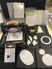 Cutting Machine Embossing PinK Big Shot Sizzix Lot Of Die  Stampin Up Embossing