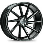 4-20x10 Black Tint Wheel Vossen CVT 5x112 50