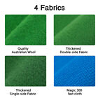 7 8 9 FT Worsted Pool Table Cloth Billiard Felt Mat Cover Fast Pre Cut Rails