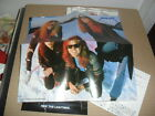 METALLICA -RIDE THE LIGHTNING- VERY HARD TO FIND JAPAN PRESS WITH OBI POSTER EX