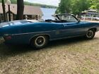 1970 Ford Torino auto sales Ford Torino 1970 convertible 351 Cleveland GT Blue with white top