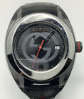 Gucci Black Green Red Silicone Band Watch 137.1 14994332