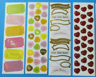 Mrs Grossman NEW LIMITED Sticker Strips No Writing on Back N 02 You Choose