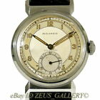 MOVADO Vtg.WWII Era 40's MILITARY Watch Sector 2-Tone Sub Dial Seconds Cal.150MN