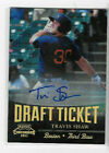 2011 Playoff Contenders Draft Tickets Signatures Travis Shaw #DT34 Auto