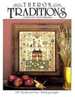 NEEDLES AND PINS SAMPLER CROSS STITCH CHART THERON TRADITIONS