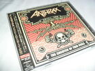 ANTHRAX -THE GREATER OF TWO EVILS- HARD TO FIND JAPANESE PRESS CD WITH OBI NMINT