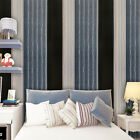 Stripe Peel and Stick Wallpaper Contact Paper Self adhives Blue Removable Vinyl