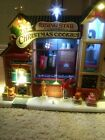 Lemax Rising Star Bakery Cookie Factory Christmas village refurbished.