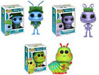 Funko POP! Disney A BUG'S LIFE FIGURE SET Flik, Princess Atta, Heimlich