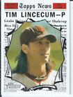 Tim Lincecum Cards, Rookie Cards and Autographed Memorabilia Guide 6