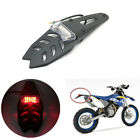 High Quality ABS Plastic off-road Bikes Motorcycle Tail Brake Light w/Bracket