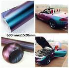 Purple Blue Auto Car Body Film UV Resistant Waterproof Color Change Sticker Cool