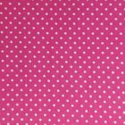 LOT Pink White Dots Cotton Quilting Fabric BLENDER USA 10 YARDS Free Ship