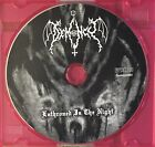 Demoncy Enthroned Is The Night CD Raw Black Metal Promo Archgoat Mgla DISC ONLY