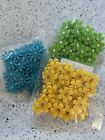 Spring Felt flowers Embellishments Crafts 3 Packages 36 Per Pack108 Ship Free