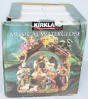 Kirkland Musical WaterGlobe NATIVITY Mary Joseph Jesus 109619 Snow Globe