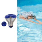 7x Pool Floating Chlorine Dispenser Floater Durable with Thermometer Spa