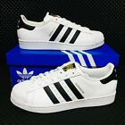Adidas Originals Superstar Mens Size Athletic Sneakers White Shell Toe Shoes