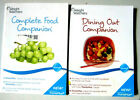 Weight Watchers Complete Food  Dining out Companion Points Plus value book set