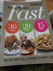 Weight Watchers books cookbook diet cooking FRESH FABULOUS FAST food recipes EUC