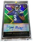 2014 Prizm SP Teddy Bridgewater RC Rookie Auto Autograph **1 2**