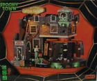 LEMAX 2014 HALLOWEEN SPOOKY TOWN ANIMATED  LIGHTED BOX OF BONES COFFIN FACTORY