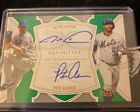 2020 Topps Definitive Baseball Dual Auto Jacob DeGrom and Pete Alonso 1 10