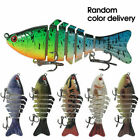 New 6 Segment Minnow Swimbait Lures Crank baits Baits Hard Bait Fishing Lures