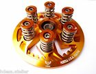 DUCATI CLUTCH PRESSURE PLATE KIT GOLD ANODIZED 6 SPEED Engine surfce finish flaw