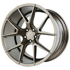 4 NEW 19 Inch Verde V99 Axis 19X85 5x120 +30mm Bronze Wheels Rims